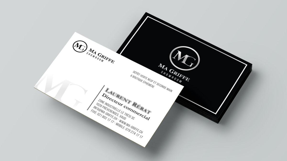 Cartes De Visite Design Et Impression Personnalises Publicit Sur Vhicule Vitrine Lausanne