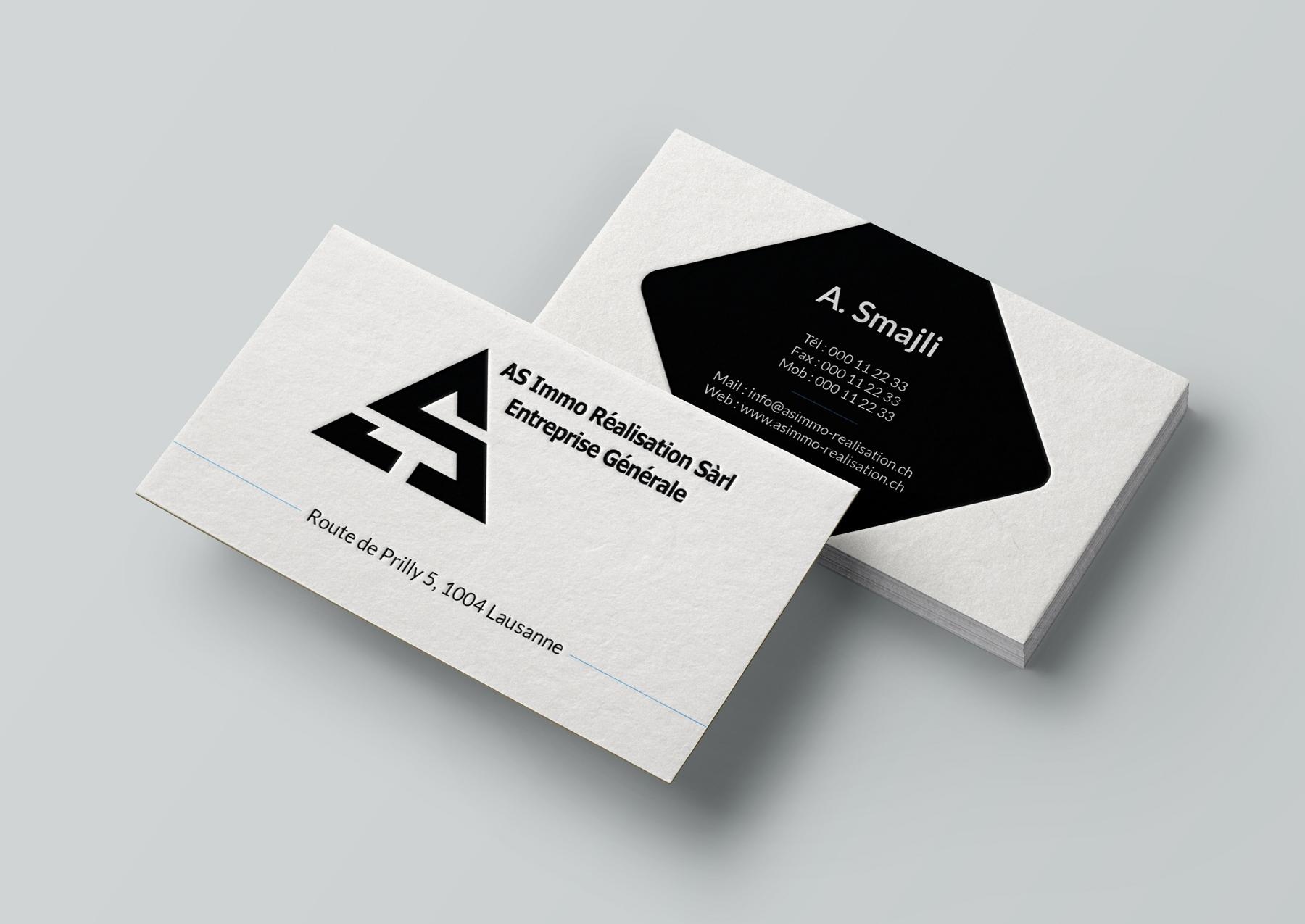 Cartes De Visite Design Et Impression Personalisees 1