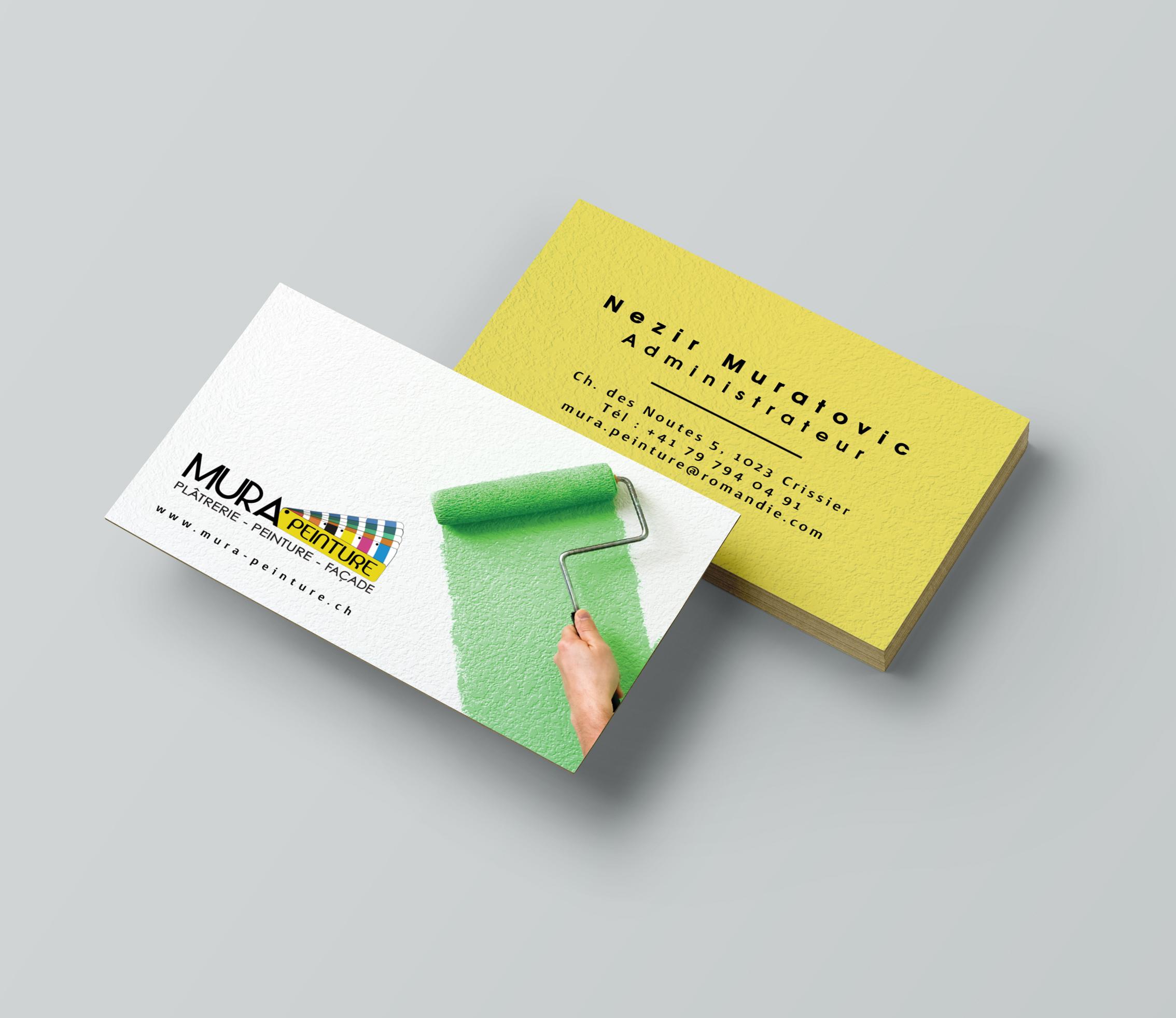 Cartes de visite, design et impression de cartes de visite personalisées (2)