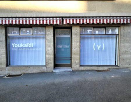 vitrine-publicité adhésive-lausanne