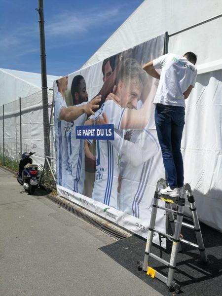 Baches xxl impression pose lausanne sport vaud suisse realisations publicitaires (3)